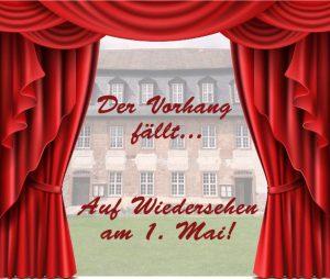 Der Vorhang fällt - Saisonende in Herrnhaag!
